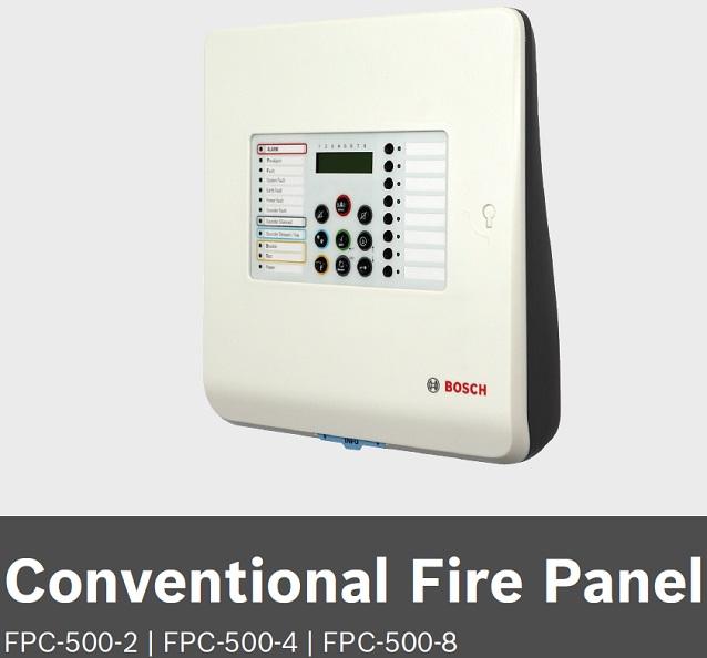 lắp báo cháy, thiết bị báo cháy báo khói, hệ thống báo cháy,trung tâm báo cháy Bosch FPC-500-2 FPC-500-4 FPC-500-8
